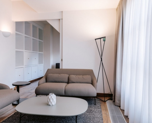 Penthouse to let in Brussels